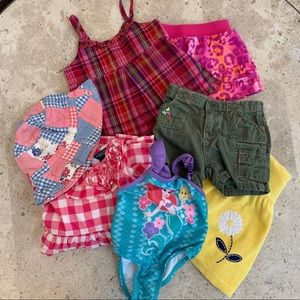 Girls Size 12 months not so Mystery Bundle